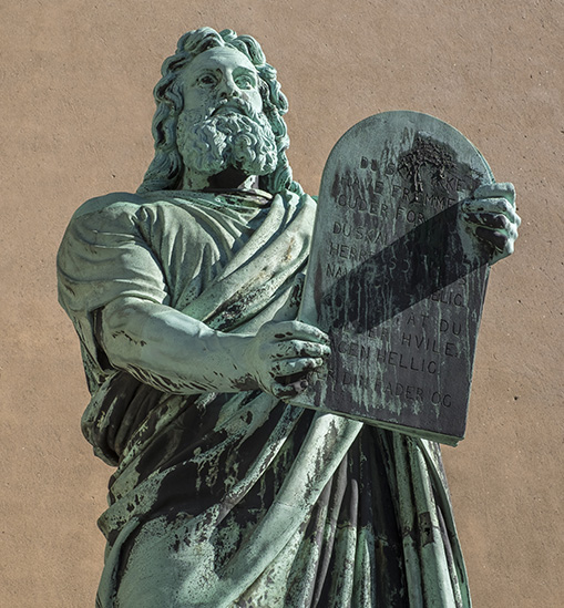Moses (approximately 1300 BC)